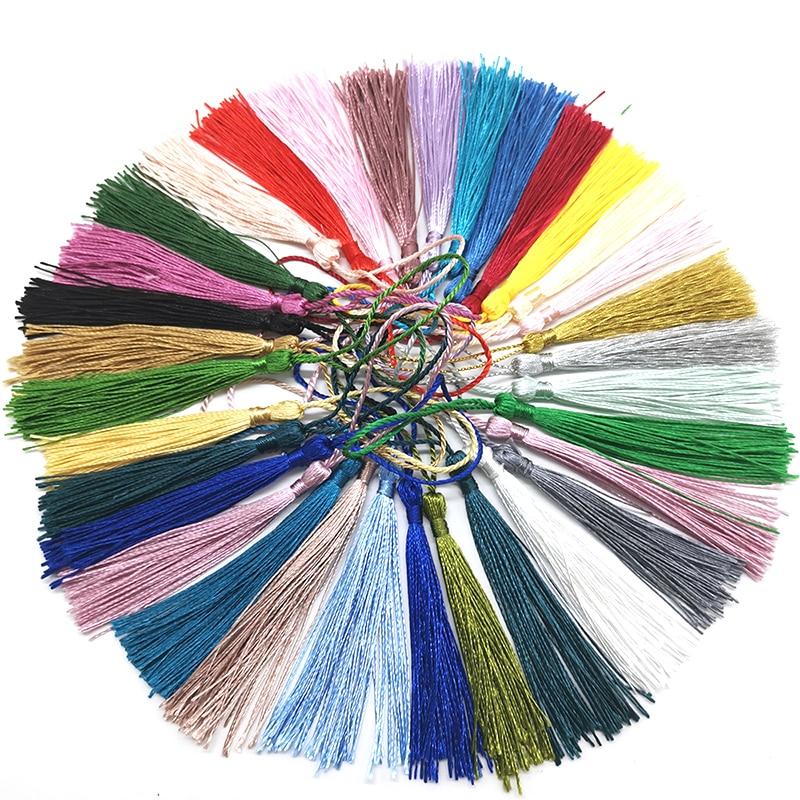 Шёлковая бахрома для шитья, 7 см, 32 цвета