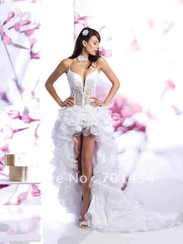 Frete Grátis Custom Made Querida Baguetes Vestidos De Noiva