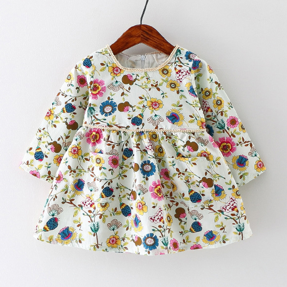 Aliexpress Com Buy Autumn Baby Girl Dress Cotton Infant