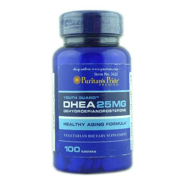 New USA Youth Guaro DHEA 25 mg*100 pcs Healthy Aging Formula Wholesale wholesale natrol acidophilus probiotic 100 mg 100 capsules [health supplements vitamins] page 1