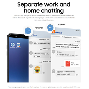 Image 5 - 100% חדש Samsung Galaxy J8 J810F DS נייד טלפון 6.0 אינץ 4GB RAM 64GB ROM אוקטה Core כפול אחורי מצלמה אנדרואיד טביעת אצבע טלפון