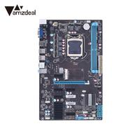 AMZDEAL Professional B250 BTC LTC Mining Motherboard Stystemboard Mainboard Dual DDR4 LGA1151 for Core/Celeron/Pentium