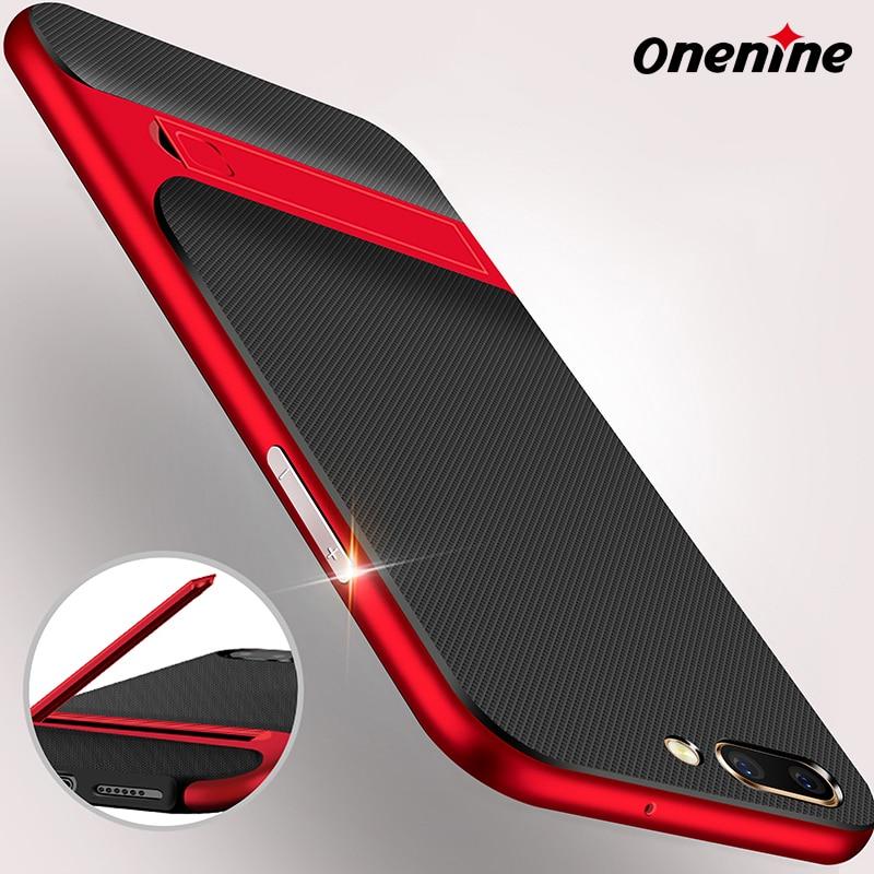 Onenine 3D Kickstand telefonfodral för OPPO R11 fodral skal 5,5 tums - Reservdelar och tillbehör för mobiltelefoner - Foto 4