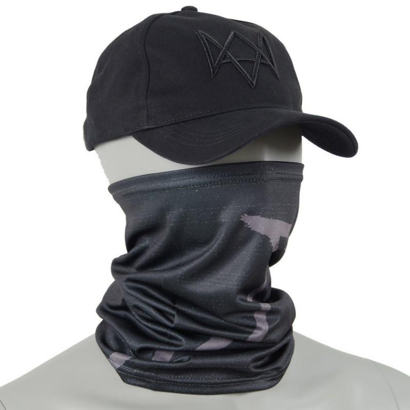 Watch Dogs маска для лица+ шапка Aiden Pearce костюм шарф для косплея Лидер продаж