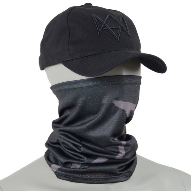 Watch Dogs Face MASK + CAP Hat Aiden Pearce Costume Cosplay Scarf Top Sale 3