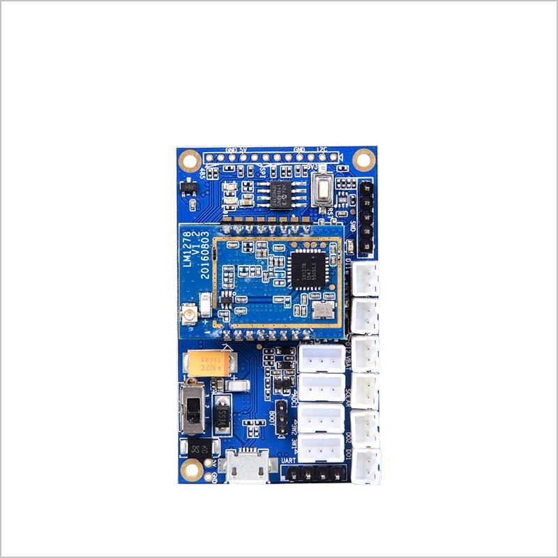 LoRa intelligent development board gateway sx1278 radio frequency spread spectrum 10000 meters 433MHZ wireless serial port lora performance evaluation board test board