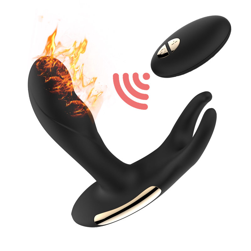 2017 New Remote Control Prostate Massage for Men Gay Anal Butt Plugs, USB Prostata Massager Vibrator for Male Sex Toys for Men removable handle heating vibrating butt plug male prostata massage sex toys for men gay g spot anal plug usb prostate massager
