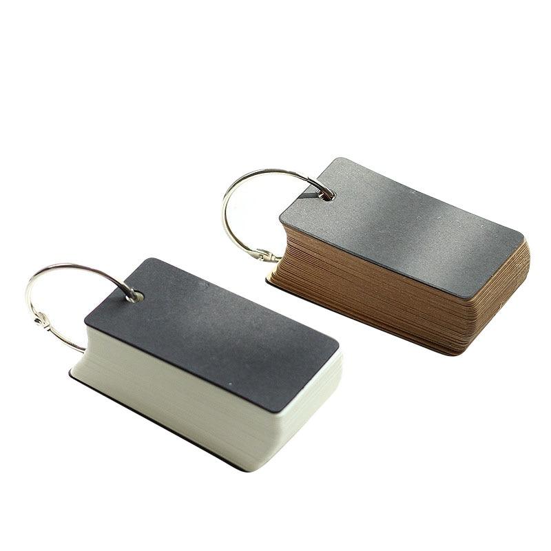 Online Shop Retro Muji Style Empty Page Blank Kraft Paper Portable ...