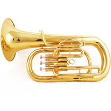 JAZZOR JBEP-1180 Профессиональный Баритоны бемоль золотой лак духовой инструмент с мундштуком и чехол