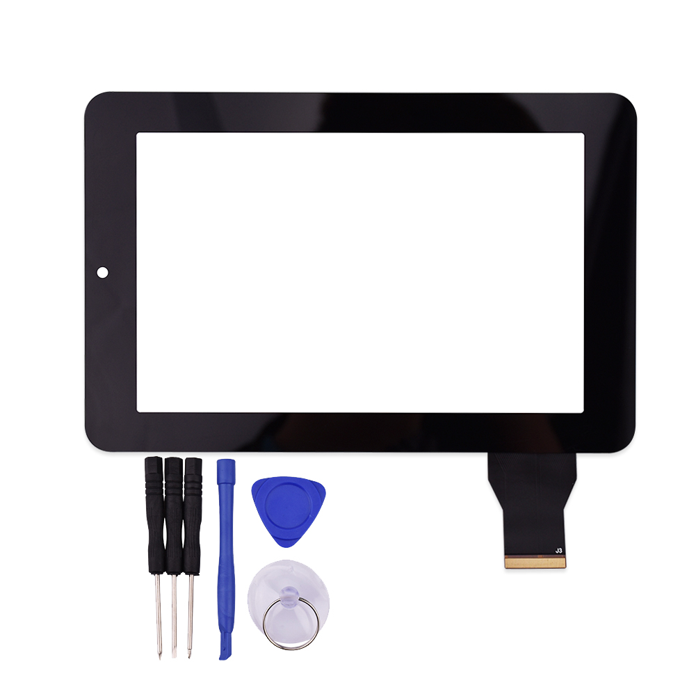 New 7 Inch Black Touch Screen HLD-GG707S-G-2045A-CP-V00 For Texet TM-7043XD Glass Panel Sensor Digitizer аксессуар защитное стекло gc 4 7 inch универсальное gg u47