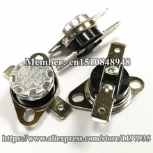 KSD301 Thermostat temperature switch 90 degrees  250V 10A  90 degrees цена и фото