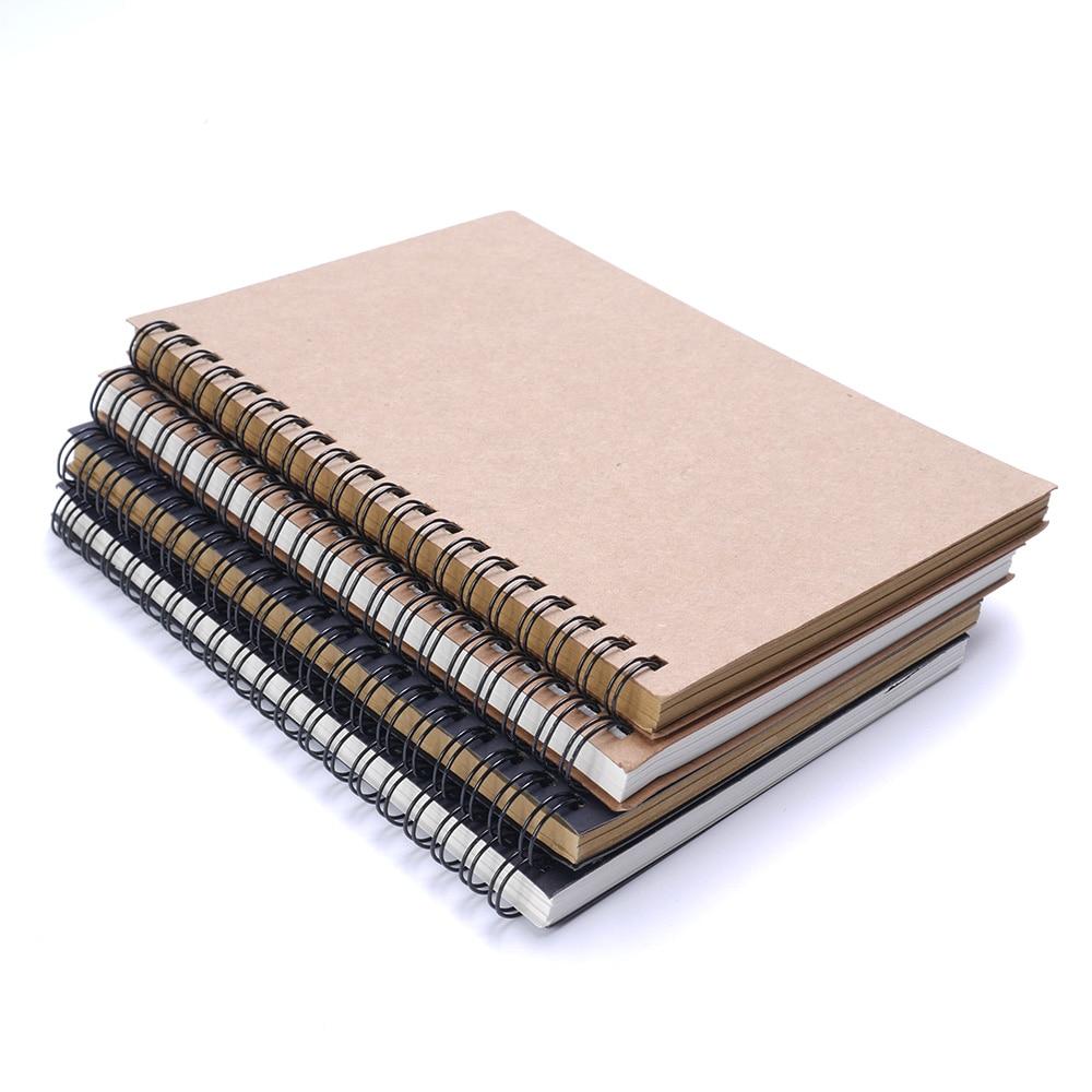 Carnet de croquis journal pour dessin peinture Graffiti couverture souple papier noir carnet de croquis bloc-notes cahier bureau fournitures scolaires cadeau