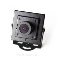 Metal 700tvl cmos prendido mini micro cctv câmera de segurança 2.8mm lente 100 graus de ângulo largo