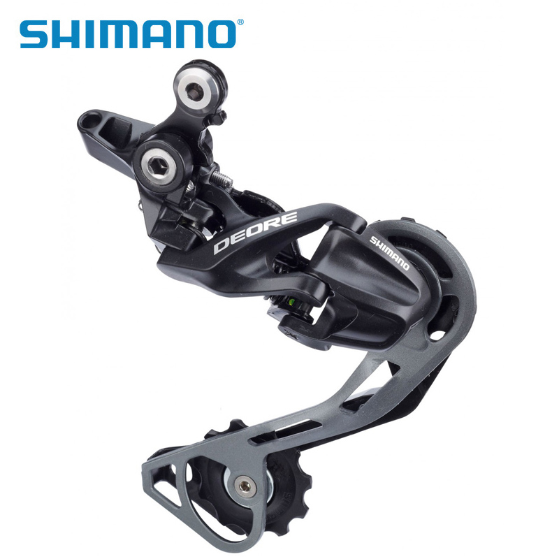 SHIMANO DEORE RD M610 <font><b>M6000</b></font> <font><b>SGS</b></font> Long Cage 10S speed MTB Mountain Bike Rear Derailleur bicycle parts image