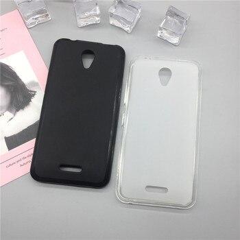 Caso del teléfono del silicón del párr Para Lenovo Vibe B A2016 A1010 A20 un Plus A1010a20 A2016A40 A2016 A40 negro casos original Coque