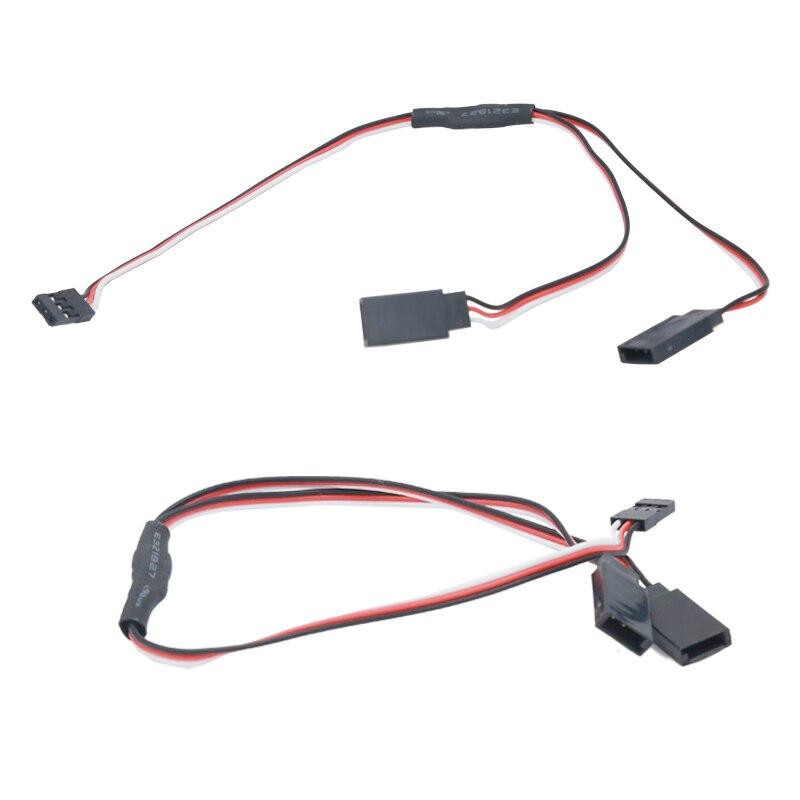 5 piezas 300mm Y Cable de extensión del Cable de alambre Servo RC ...