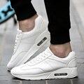 Nuevo 2016 Verano Para Hombre Casual Pu Aire Respirable Zapatos Blancos Hombres Deporte Al Aire Libre Correr Canasta Femme Chaussure Homme de Deporte
