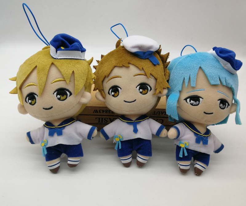 Ensemble Stars! Plush Doll Stuffed Toy Set Nito Shino Mashiro Tenma JAPAN 2018