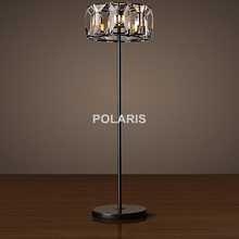 Factory Outlet Modern Vintage Crystal Floor Lamp Luxury Cristal Floor Light Home Lighting Decoration Made by Polaris Lighting
