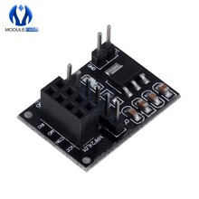 Socket Adapter Plate Board For 8Pin NRF24L01 Wireless Module Transceiver Module 51 AMS1117 Diy Electronic(China)