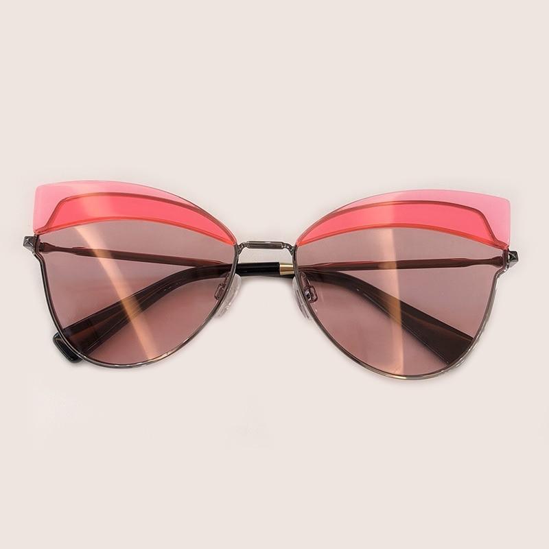 2019 De 3 Luxus Rahmen Box Mode 5 No Sonnenbrille Frauen Designer Marke 1 Oculos Brillen no no 2 no Sol Feminino Hohe Legierung 4 Qualität Mit no qz7Att
