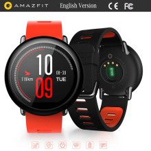 Original Huami AMAZFIT Smart Watch Bluetooth 4.0 WiFi Dual Core 1.2GHz CPU 512MB/4GB GPS Heart Rate Monitor CE FCC