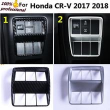 High quality For Honda CRV CR-V 2017 2018 car ABS chrome rear view Rearview Side Mirror Cover stick trim frame lamp 2pcs/set