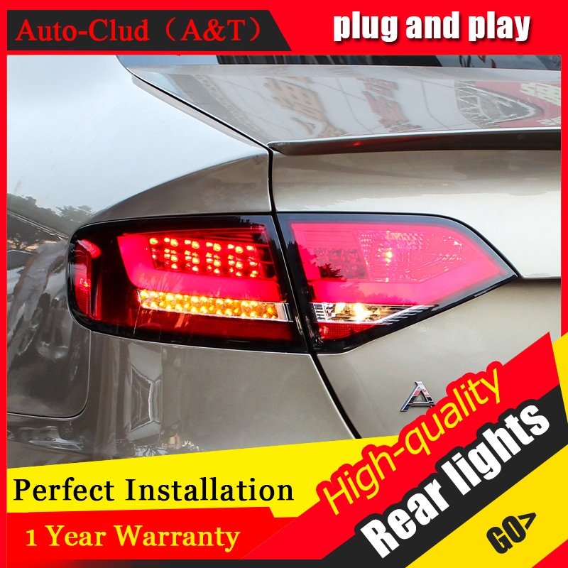 Car Styling LED Tail Lamp for A4 Tail Lights 2009-2012 for A4 Rear Light DRL+Turn Signal+Brake+Reverse LED light