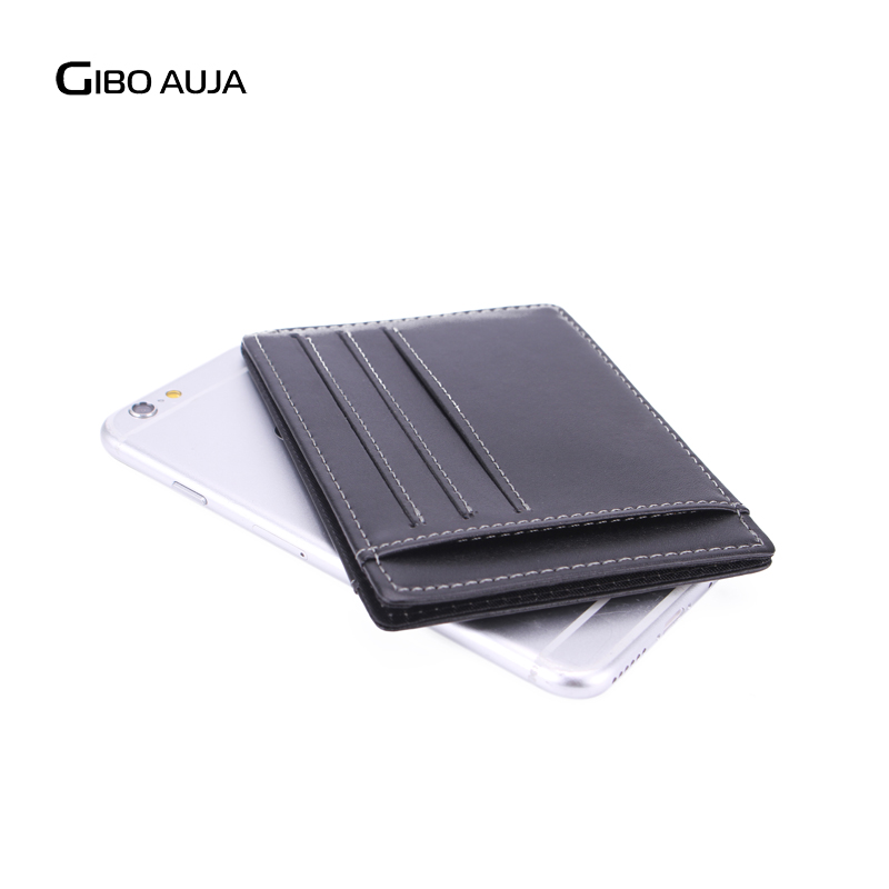 Gibo Auja - helt ny äkta läder plånbok super slim kort innehavare - Plånböcker - Foto 5