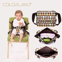 Colorland Portable Baby Booster Seats Safety Chair Seat Mama 2 IN 1 Maternity Diaper Dag Travel