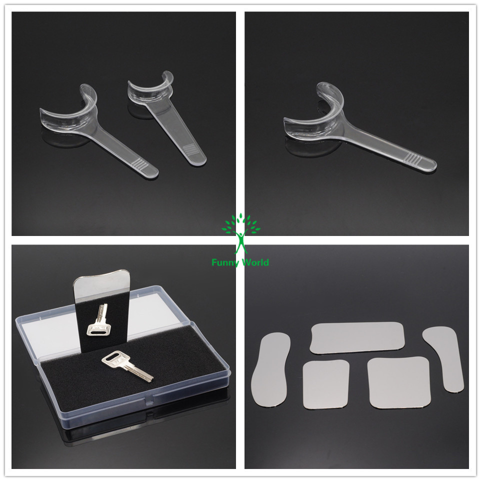 5PCS Dental Clinic Stainless Steel Photographic Mirror+10 T-Shape Intraoral New 5pcs dental clinic stainless steel photographic mirror 10pcs dental t shape intraoral cheek lip retractor opener new