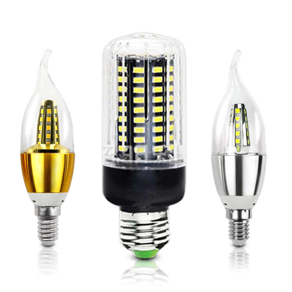LED Corn Bulb Lamp E27 E14 110V 220V SMD5730 3W 7W 12W 15W 18W Light Bulbs Lampada LED Diode Lamps Energy Saving Light for Home