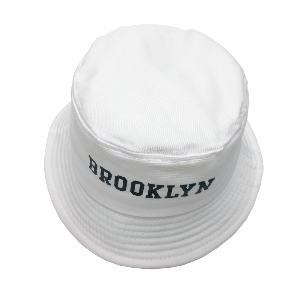 06b60fe0a79 Minhui 2016 New Fashion BROOKLIN Bucket Hat White Panama Fishing Cap Men  and Women Bob Fisherman Hats Caps-in Bucket Hats from Apparel Accessories  on ...