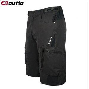 Shorts de ciclismo masculino, 5 ou peças/lote, para mtb, respirável, solto, roupa esportes ao ar livre, bicicleta de montanha, estrada, M-4XL