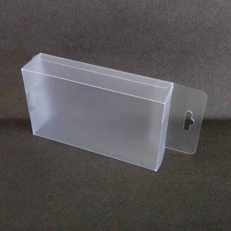 50 шт. матового pvc Пластик коробка с отверстие сверху конфеты, игрушки Дисплей подарок корабля Коробки для Свадебная вечеринка упаковки