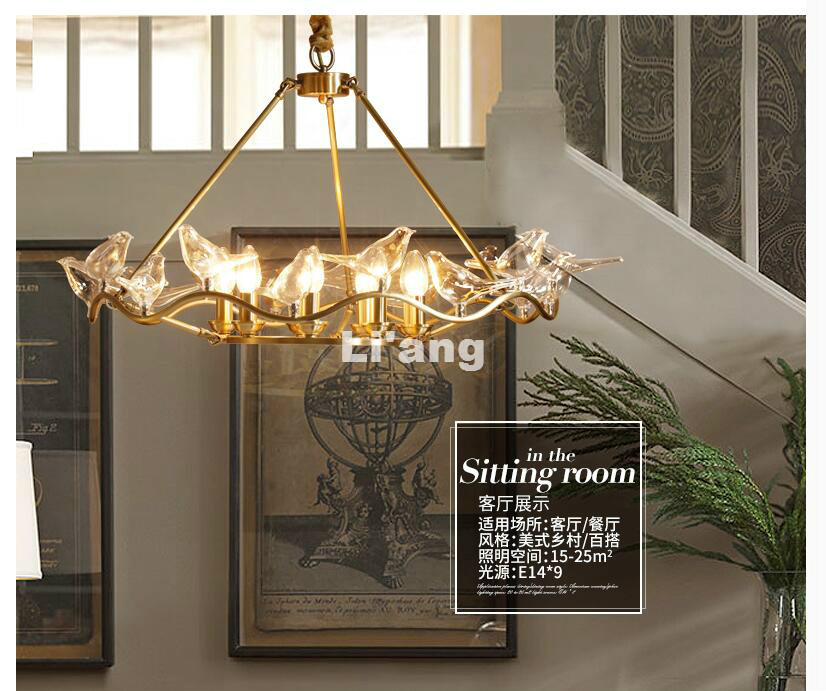 Free ship nordic vintage glass birds pendant lights pendant lamps nordic vintage glass birds pendant lights pendant lamps dining room restaurant cafe hanging suspension light fixtures in pendant lights from lights mozeypictures Image collections