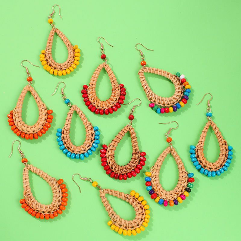 Pendientes Zinc Alloy Limited Sale Earing Fashion Diy Earrings For Women Dangle Straw Bohemian Jewelry 2019 Brincos Oorbellen