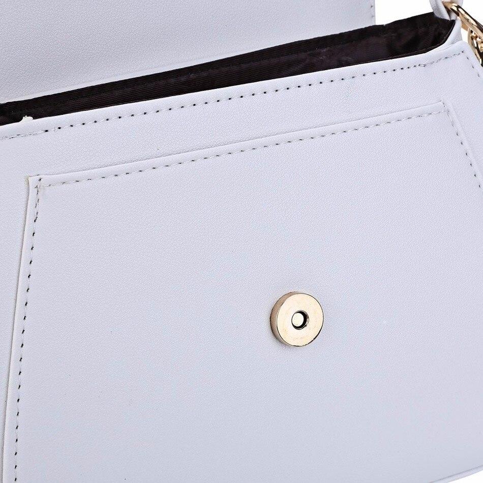 dm prime fênix simplicidade na costura da bolsa branca