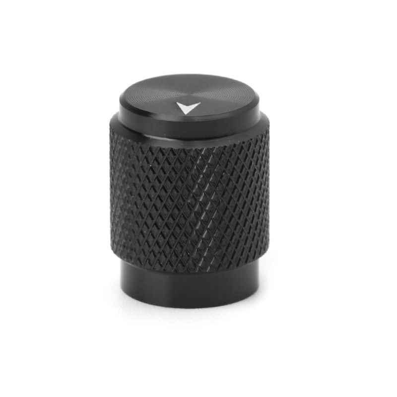 12.5x16mm potentiomètre bouton capuchon aluminium contrôle du Volume haut-parleurs multimédia pièces de rechange pour HIFI Audio amplificateur Musical Instr