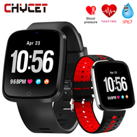 Smart Watch V6 Blood Pressure Measurement Fitness Bracelet Waterproof Heart Rate Monitor Smartwatch GPS Sport Watch Women Men