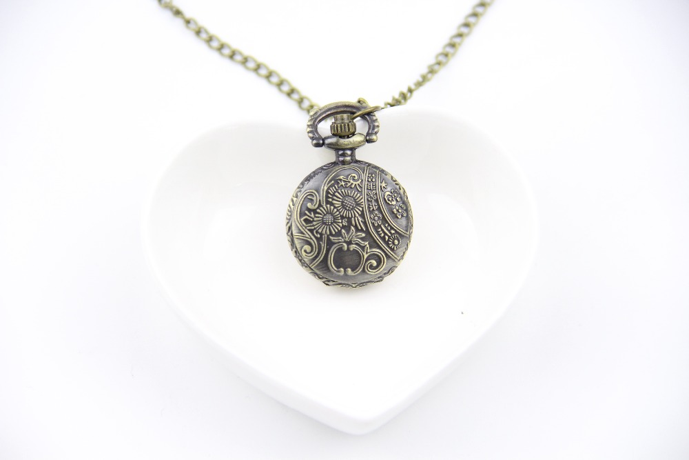 Fashion Jewelry Vintage Charm TARDIS Necklace Doctor Who Pocket Watches Necklace Gallifreyan Necklace Dia27mm