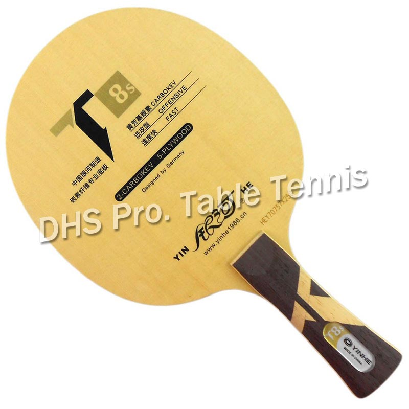 Galaxy YINHE T8s(CARBOKEV, T-8 Upgrade) Table Tennis Padle for PingPong Racket ...