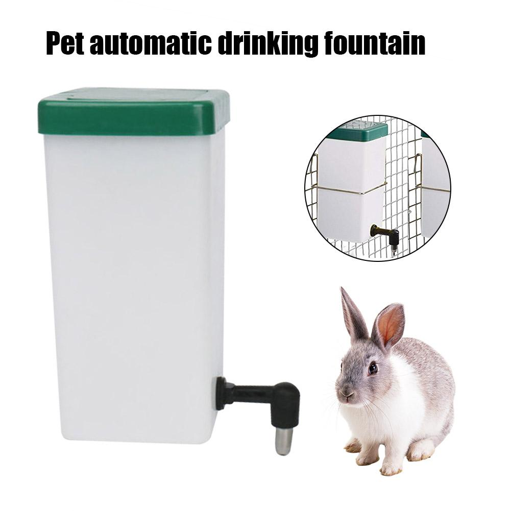 Pet Automatic Drinking Fountain Rabbit Hamster Water Dispenser Water Feeder For Small Animal Rabbit Hamster Guinea Pig Squirrel