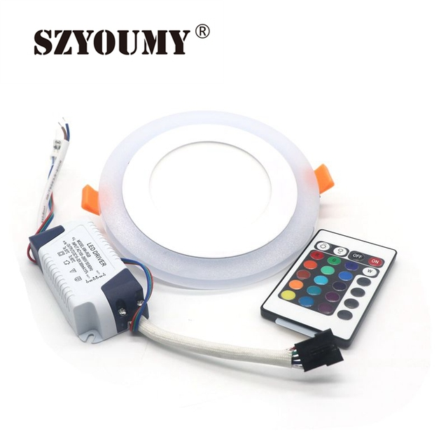 SZYOUMY Led Panel Downlight Rond 6W 9W 3 Model LED Lamp Panel Light ...