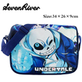 Game Undertale Printing Messenger Bag For Teenagers Boy Girls Cartoon School Bags Children Daily Satchel