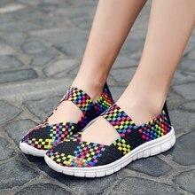 Urbutifo Summer Colourful Casual Shoes Woman Soft Bottom Flats