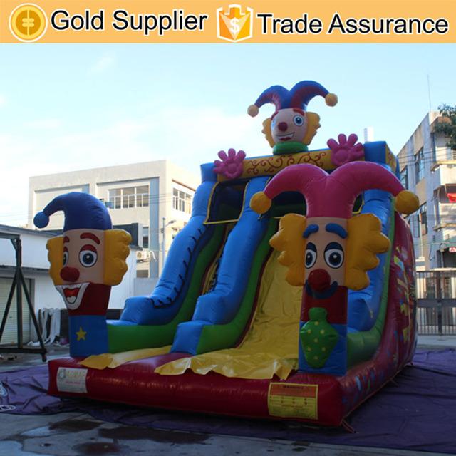 Inflatable biggors gigante bouncer inflável corrediça inflável seca slide
