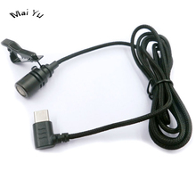 Microphone de téléphone portable à revers professionnel type c connecteur moniteur Microfone pour Samsung pour Huawei etc. Téléphone
