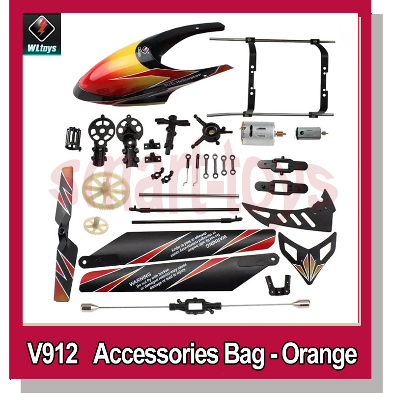 Tool Parts Leadingstar Wltoys V912 Rc Helicopter Accessories Bag Kv912-001