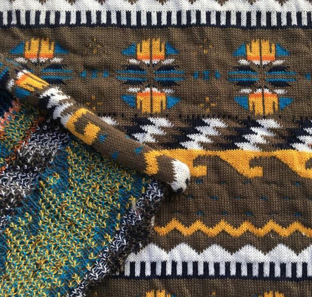 Wholesale Jacquard Knit Polyester Fabric Fake Designer Luxury